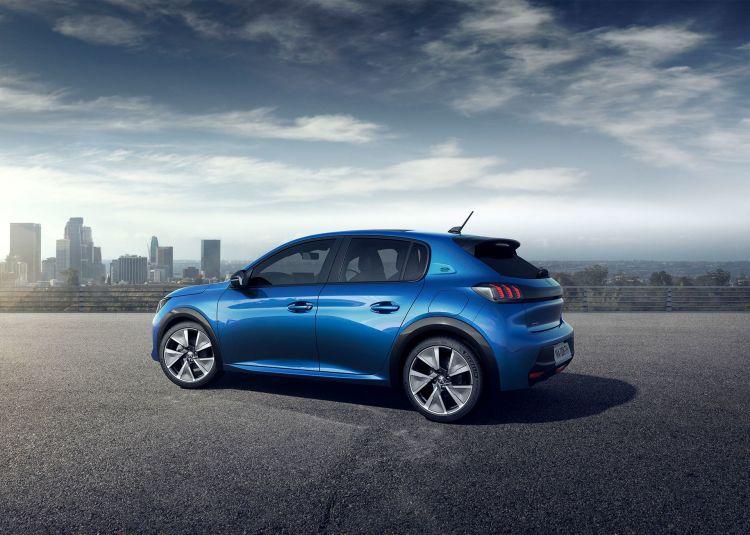 Peugeot E 208 2019 Azul Exterior 19