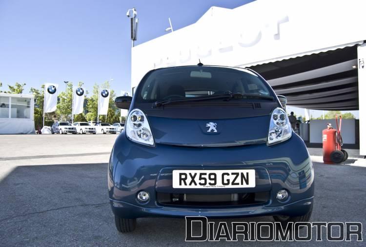 Peugeot iOn en el Salón de Madrid 2010