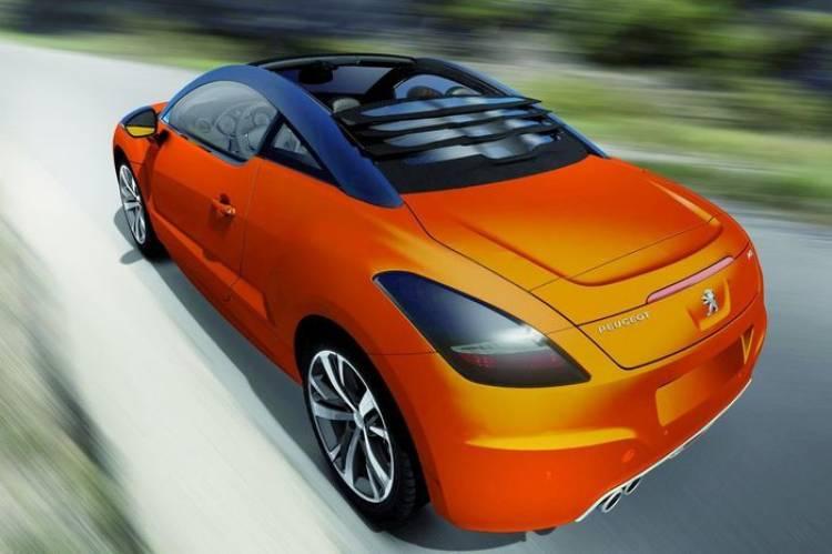 El Peugeot RCZ View Top Concept, el RCZ quiere desmelenarse, y Magna Steyr se lo consiente