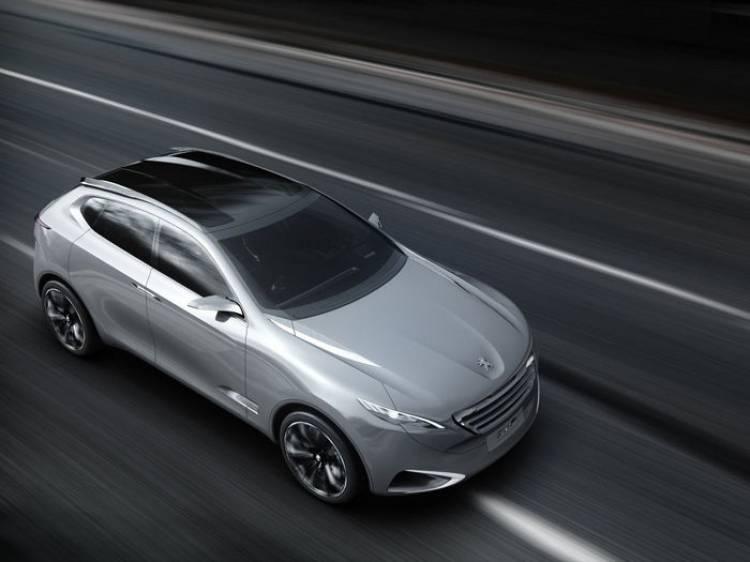 Peugeot SXC: ¿nos presentaron en 2011 al próximo 6008?