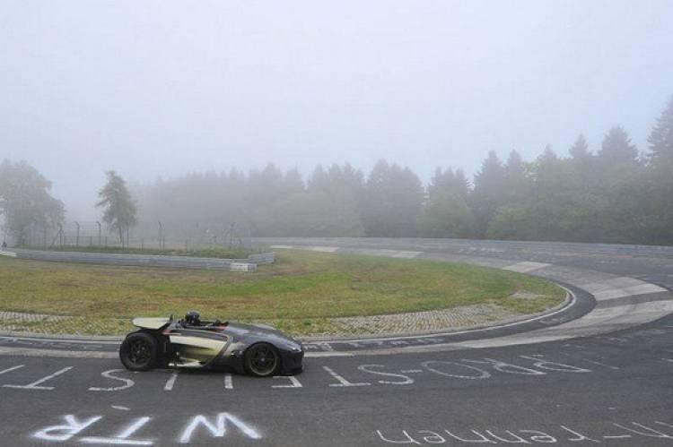 Peugeot EX1 en Nürburgring