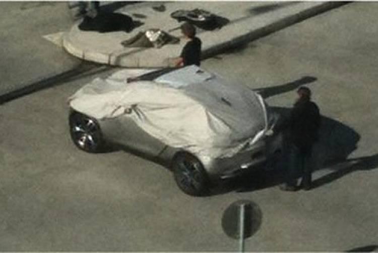 Fotos espía del Peugeot HR1 Concept