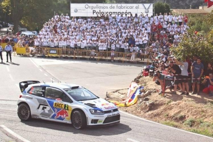 Empleados de Volkswagen Navarra en Rally de España