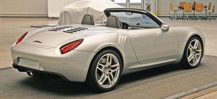 Porsche 550one Concept P