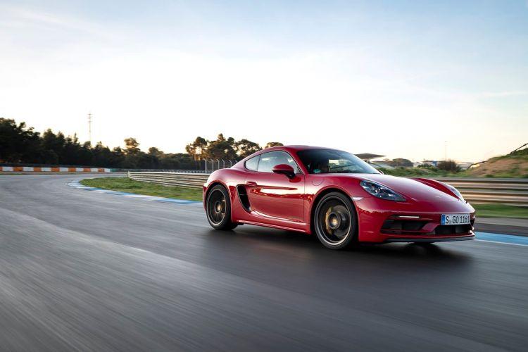Porsche 718 Cayman Gts 40 Red Carmine 4