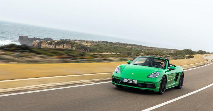 Porsche 718 Gts 40 Verde Phyton 4