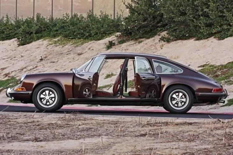 Porsche sedán basado en el 911 de 1960 por Troutman-Barnes