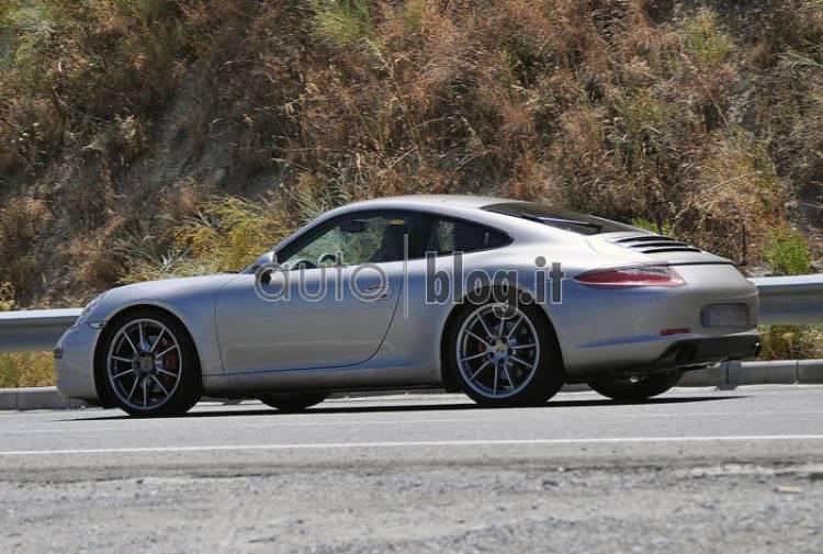 Porsche 911 2012 espía