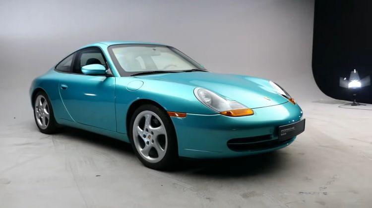Porsche 911 996 Blindado 01