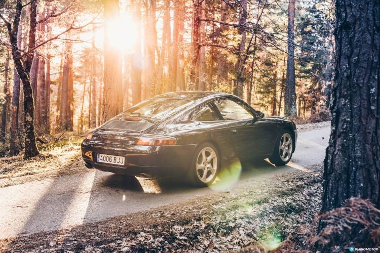 Porsche 911 996 Amanecer Porsche 911 25
