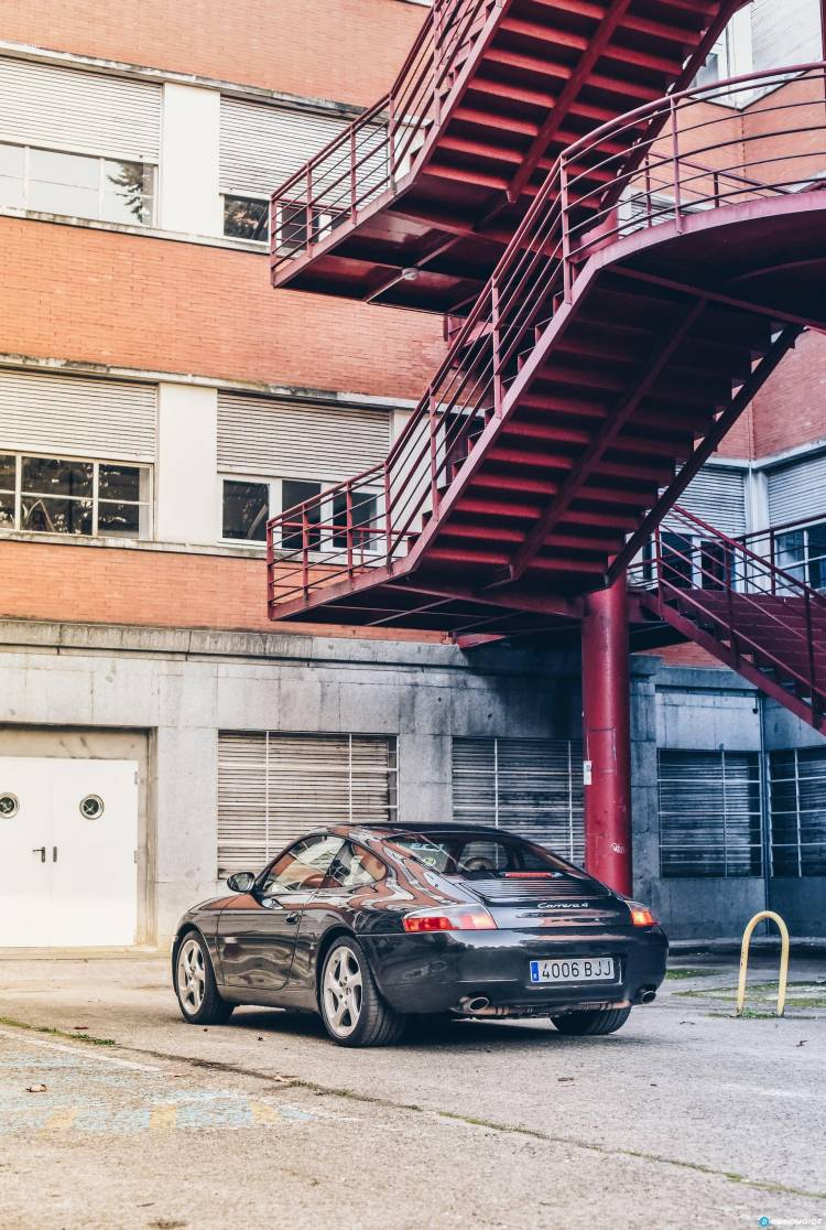 Porsche 911 996 Amanecer Porsche 911 32