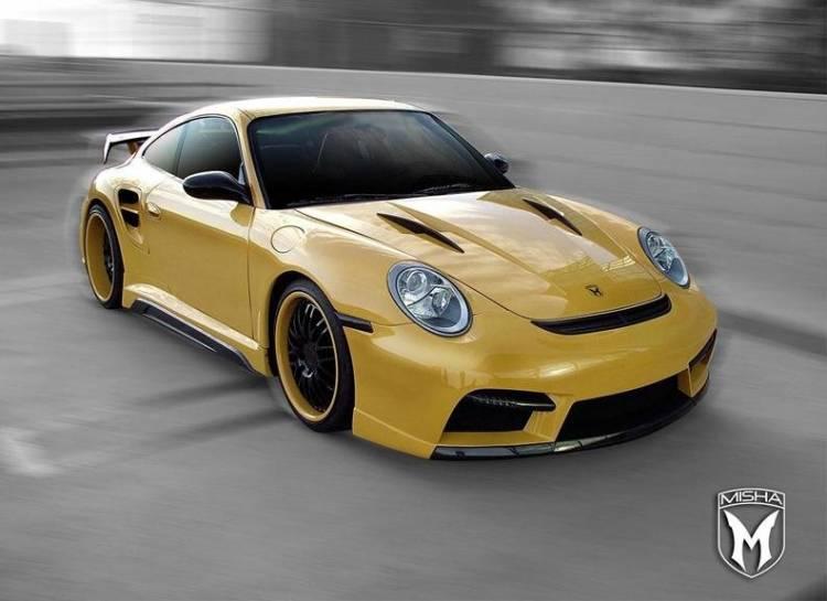 Porsche 911 Turbo 997 by Misha Design