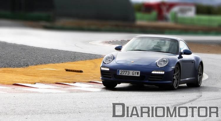 Porsche 911 Carrera 4S, prueba en circuito