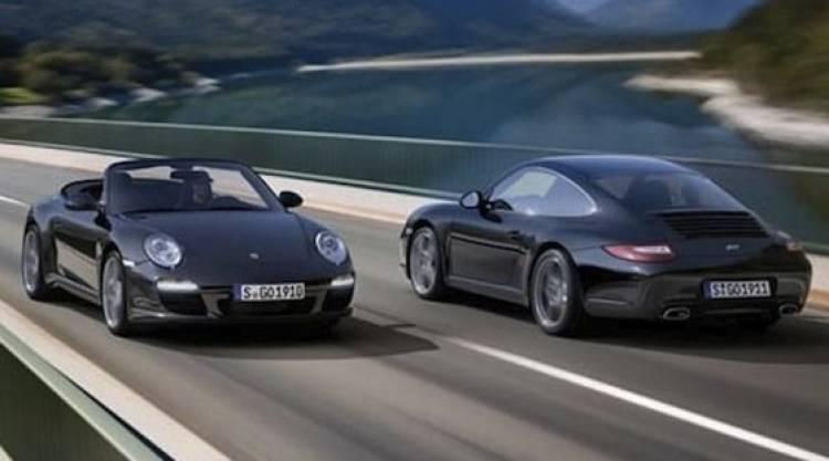 Porsche 911 Carrera Coupé & Cabriolet Black Edition