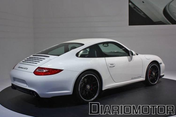 Porsche 911 Carrera GTS, ensanchamientos en el Salón de París