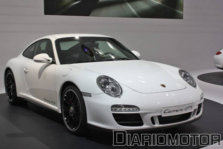 Porsche 911 Carrera GTS en el Salón de París