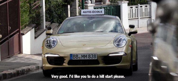 Porsche 911 Coche Autoescuela