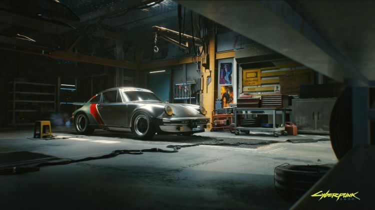 Porsche 911 Cyberpunk