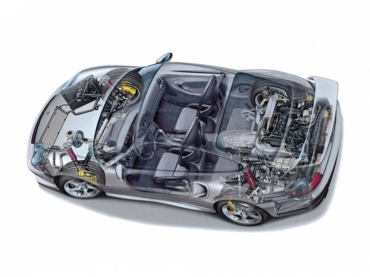 Porsche 911 Gt2 2001 Dm 27
