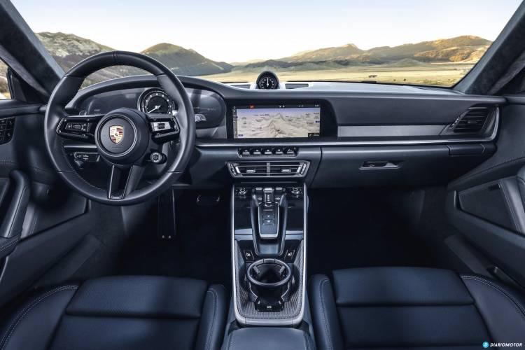 Porsche 911 Interior 992