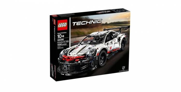 Porsche 911 Rsr Lego 2
