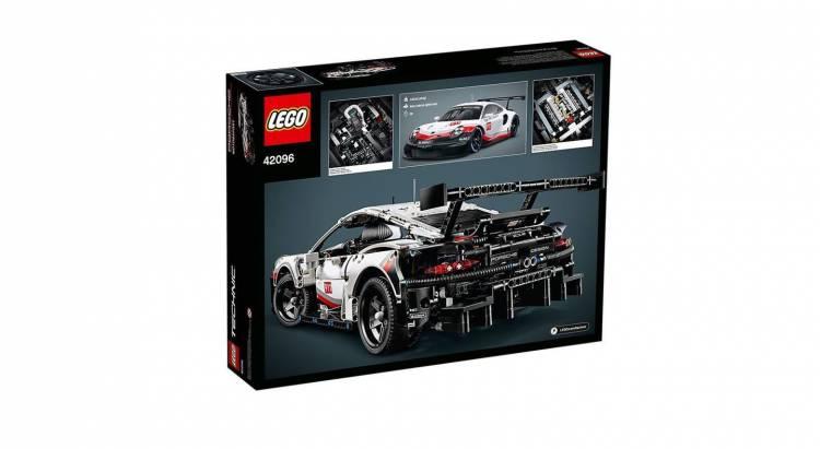Porsche 911 Rsr Lego 4