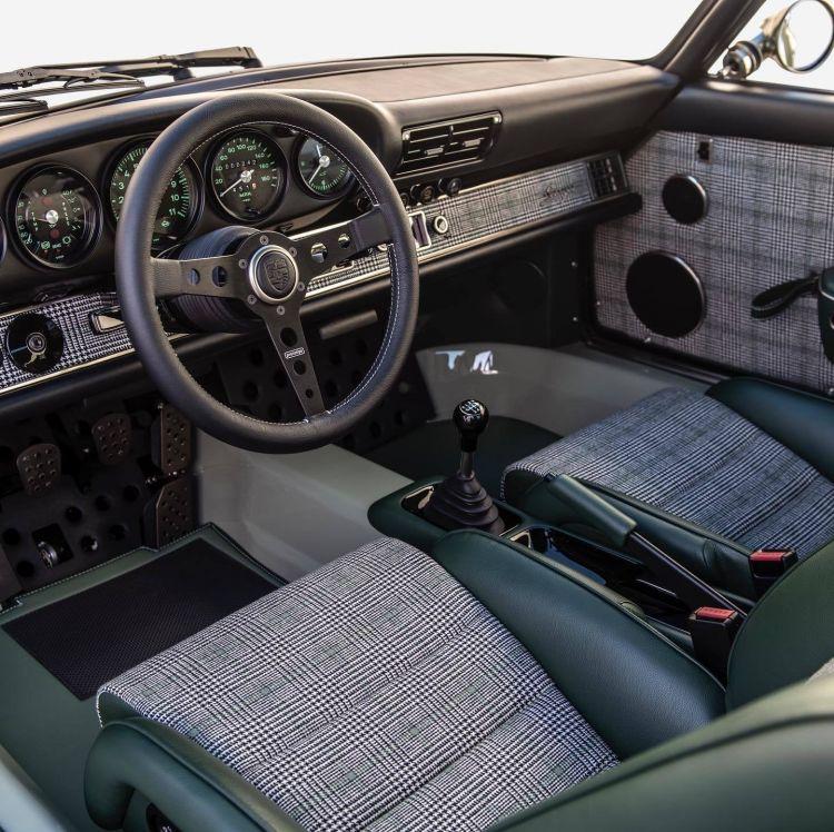 Porsche 911 Singer Verde 2020 1