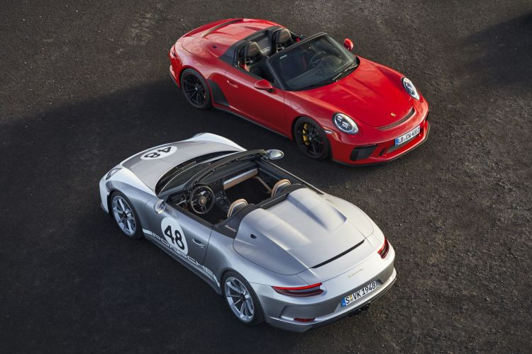 Porsche 911 Speedster 2019 1