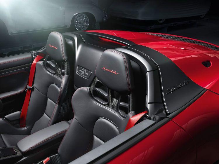Porsche 911 Speedster 2019 Rojo 02