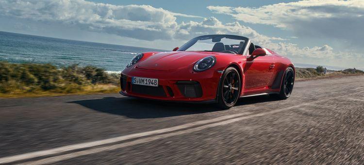 Porsche 911 Speedster 2019 Rojo 05