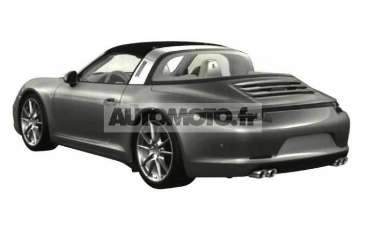 Confirmado, el Porsche 911 Targa estará en el Salón de Detroit