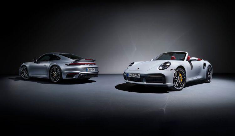 Porsche 911 Turbo S 2020 1