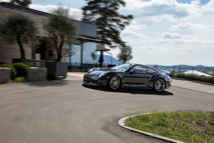 Porsche 911 Turbo S Techart Dm 18