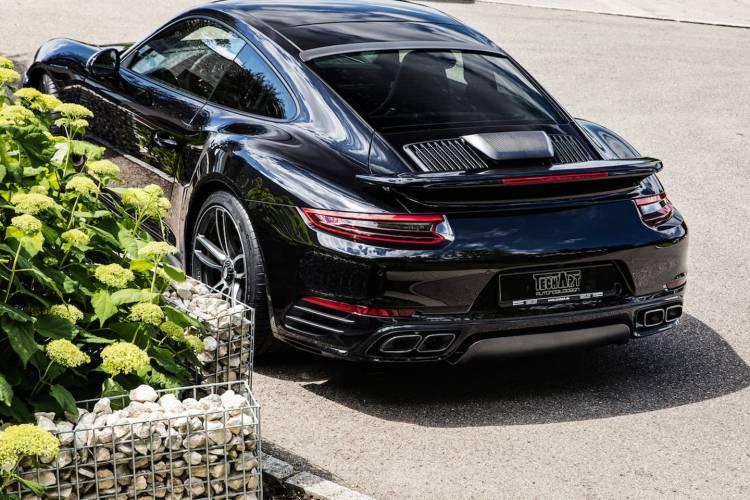 Porsche 911 Turbo S Techart Dm 9