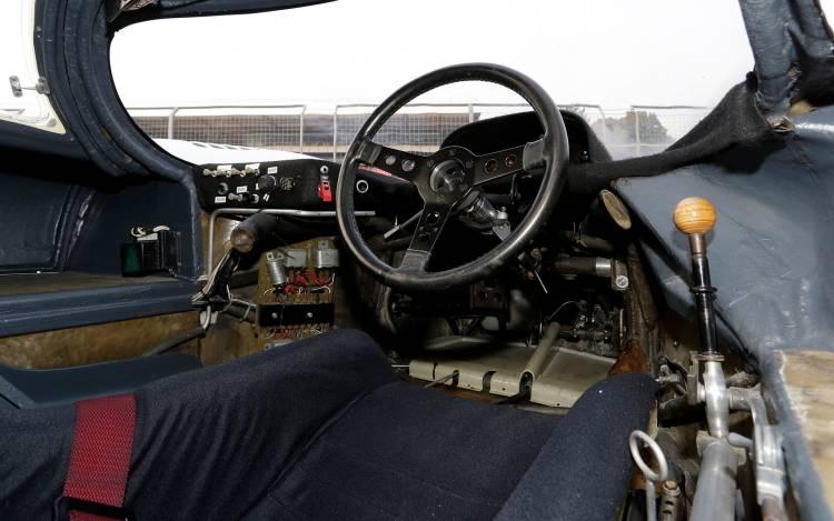 Porsche 917 Palanca Cambios Madera