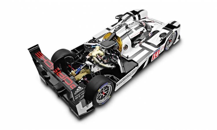 Porsche 919 Hybrid Maqueta 3