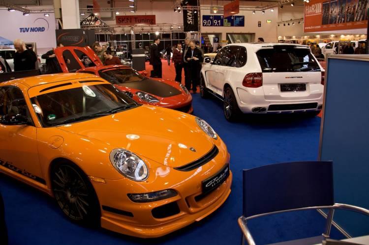 Porsche 9ff en el Essen Motor Show