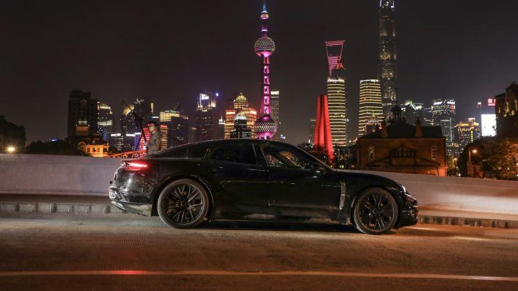 Porsche Asia Centro Desarrollo Fabrica Taycan