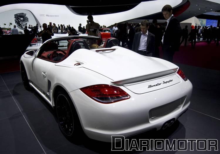 Porsche Boxster Spyder en el Salón de París