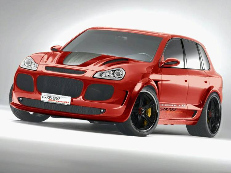 Porsche Cayenne GTS Gemballa Tornado