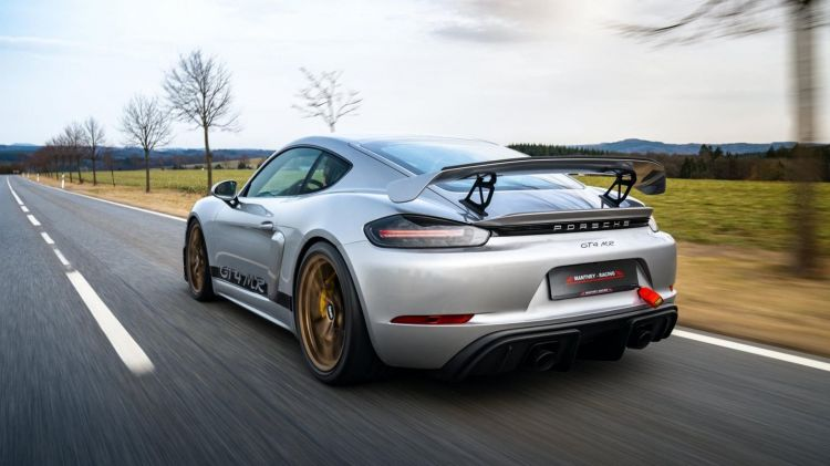 Porsche Cayman Gt4 Manthey Racing 5