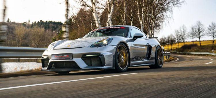 Porsche Cayman Gt4 Manthey Racing P