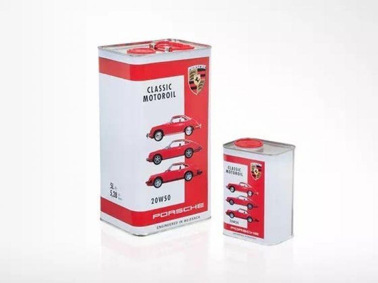 Porsche Classic Aceite Fomatos Embases Lata