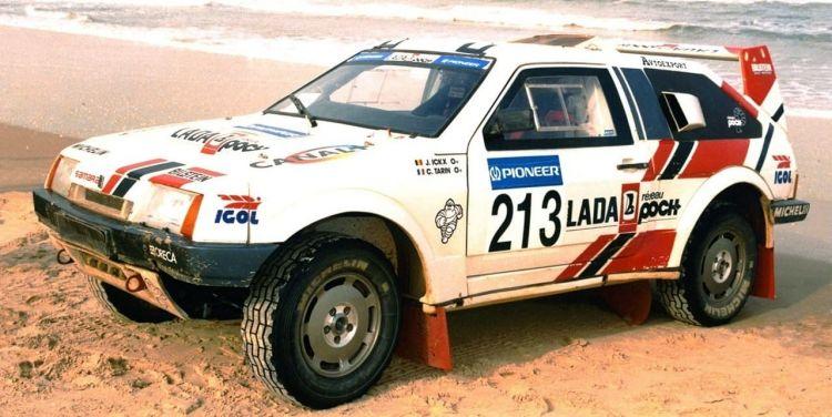 Porsche Colaboracion Lada Samara Proto Dakar