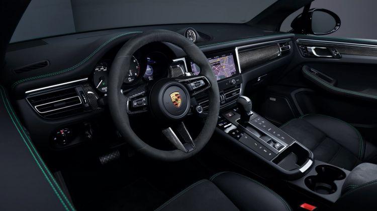 Porsche Macan 2022 Interior 01
