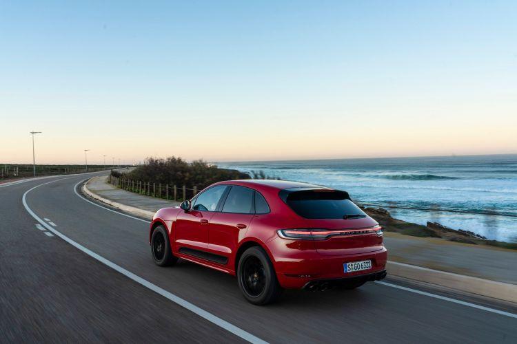 Porsche Macan Gts 19 Rojo Carmin