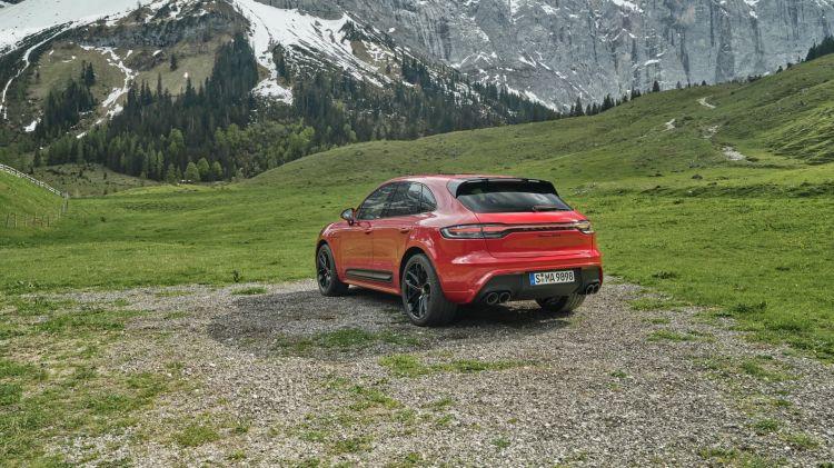Porsche Macan Gts 2022 Rojo 01
