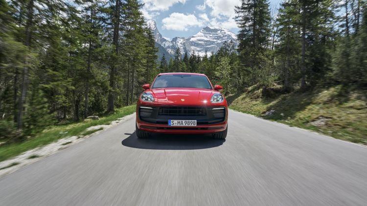 Porsche Macan Gts 2022 Rojo 04