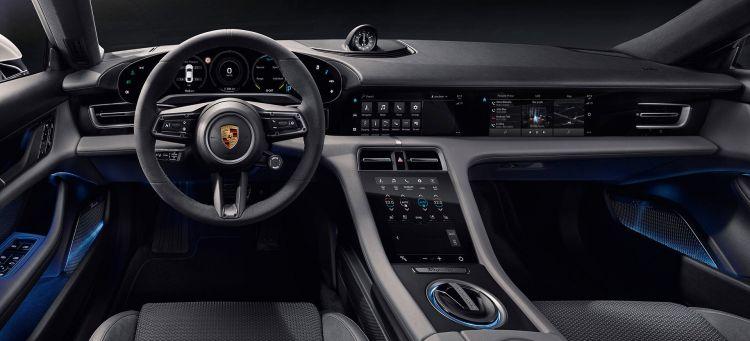 Porsche Taycan 2020 Interior 03
