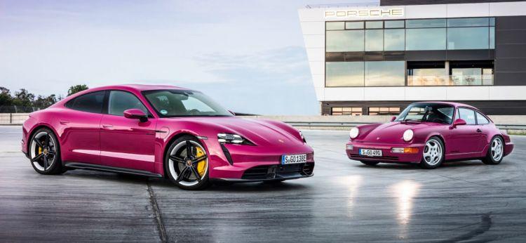 Porsche Taycan Actualizacion 2021  01